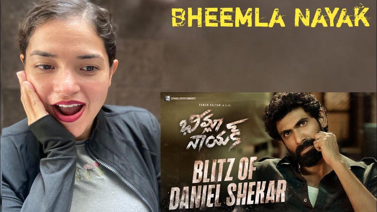 Bheemla Nayak   Blitz of Daniel Shekar   Pawan Kalyan   Rana Daggubati   Trivikram   Reaction