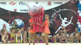 Торжественное открытие турнира по художественной гимнастике
