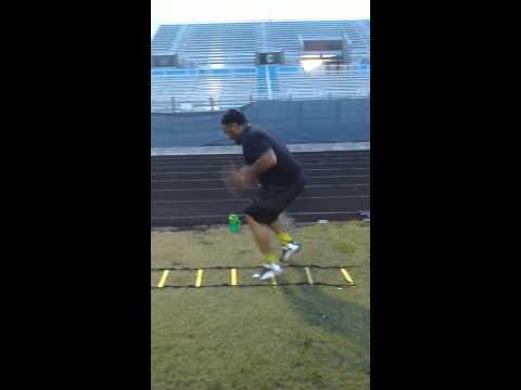 Training with Tre Mason #NFL Rams #back#27