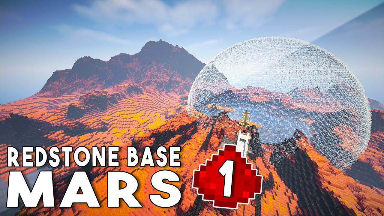 Let's Build: REDSTONE MARS BASE EP1 - Establishing A ...
