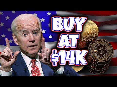 BIDEN PRESIDENCY CRASHES BITCOIN! [BUY AT $14K]