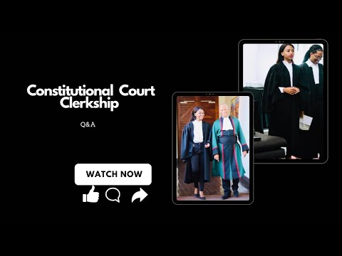 Constitutional Court of South Africa Law Researcher Application Q&A