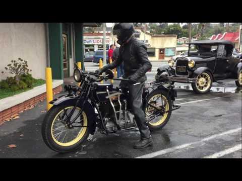 1928 Henderson Deluxe Motorcycle