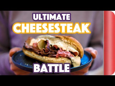 The ULTIMATE CHEESESTEAK BATTLE