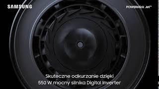 Bezprzewodowy odkurzacz POWERstick Jet™ | Moc silnika do 550 W
