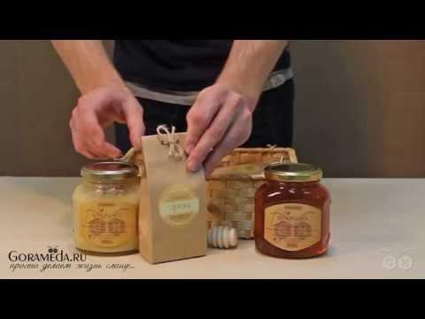 Добротный подарочный набор с мёдом