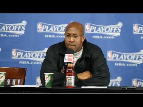 Cavaliers coach Mike Brown talks about LeBron's future
