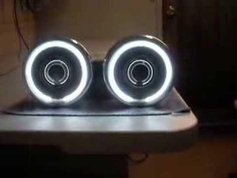 97 10 Speed Triple 55w HID Bi Xenon Projector Headlight
