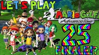 Let's Play Mario Golf: Advance Tour [25]: Mushroom Risky Finale!
