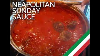 Carla's Cucina  Napolitan Sunday Gravy