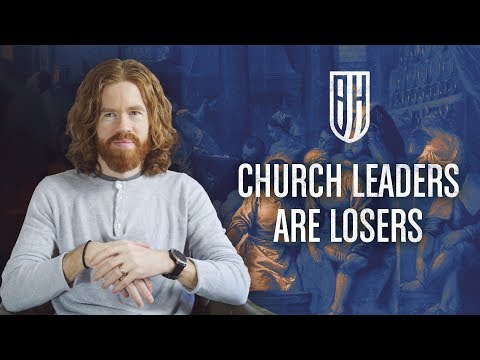 Church Leaders Are Losers