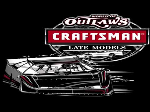Craftsman World Of Outlaws Late Models Feature Race Volusia Speedway Park