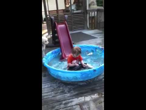 Tyler On Our Ghetto Water Slide Lol Youtube