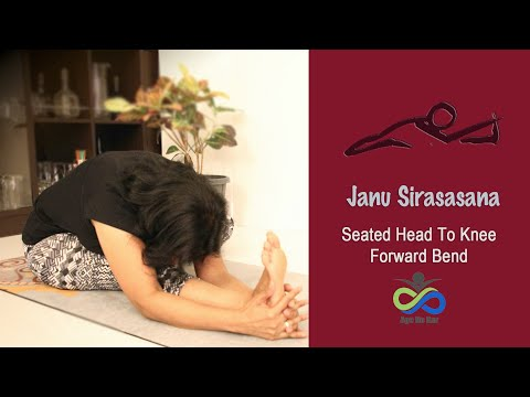 Janu Sirasasana | Head To Knee Forward Bend | Yogasana Simplified | Get flexible Hamstrings
