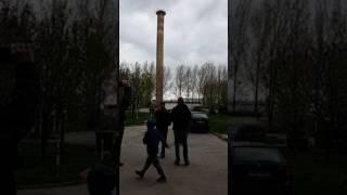 Wyburzanie komina Zarzecze Świdnica Wersja Pełna