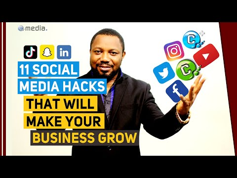 11 Social Media hacks that will make your business grow faster