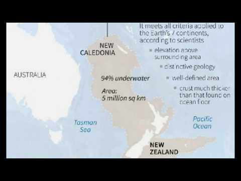 WOW! New Zealand Part of 'Lost Continent', Near Ancient Land Mass of MU