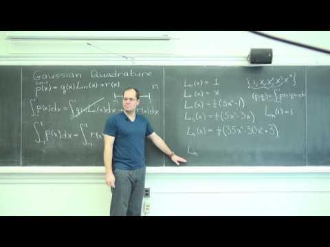 Gaussian Quadrature 3: The Explanation of the Technique