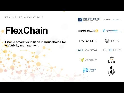 FlexChain - Enable small flexibilities in households for electricity management