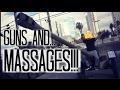 Guns & Massages | 48hrs in Las Vegas