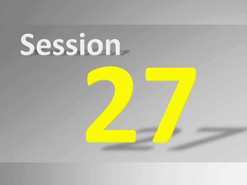 Session 27/35 (SDLC Methodologies - Waterfall, Agile, Scrum, etc