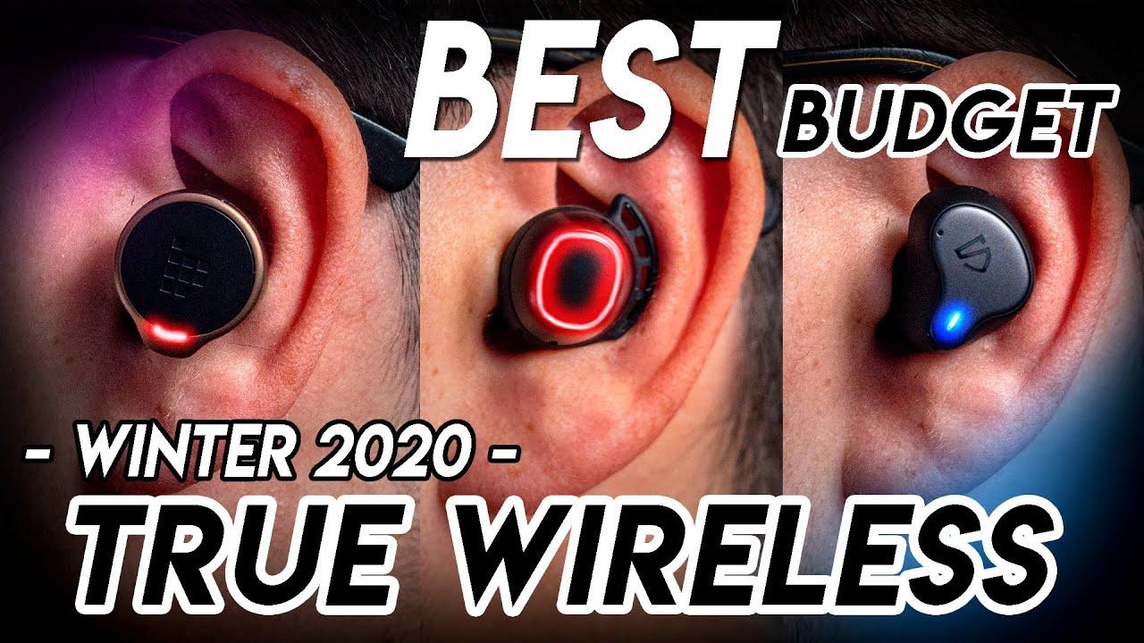 5 BEST Budget True Wireless Earbuds Winter 2020 (under $100)