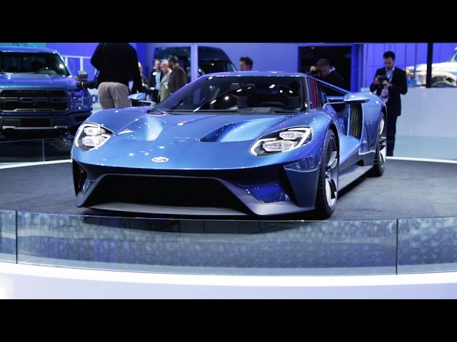 Ford Gt Shelby Gtr F  Detroit Auto Show Driiive Tv Find The Best Car Tv Commercials Movies