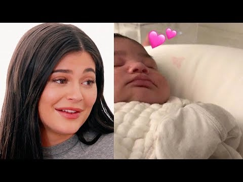 Kylie Jenner Shows Off Baby Stormi's Cheeks; Does She REALLY Look Like Tyga??