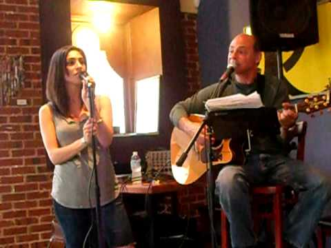 Father and daughter sing, cover Wasted on the Way by Crosby, Stills & Nash