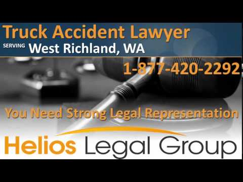 West Richland Truck Accident Lawyer & Attorney - Washington