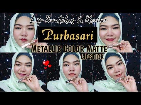 purbasari-metallic-color-matte-lipstick-review-dan-lip-swatches-|-nadia-hasyir