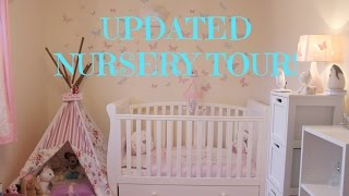 Ellie's Updated Nursery Tour!