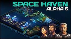 Hirnsturz Crew im All - Space Haven (Alpha) #01 [Let's Play German Deutsch]