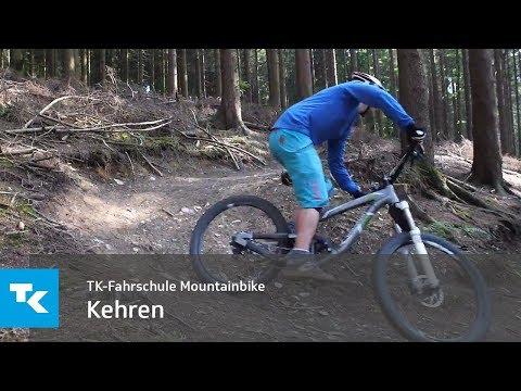 TK-Fahrschule Mountainbike - Hinterrad versetzen