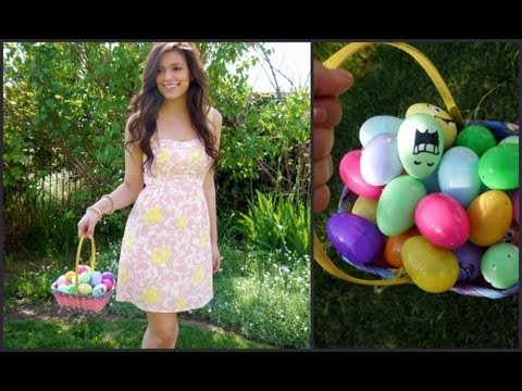 What i wore for easter hair makeup outfit youtube negle Image collections