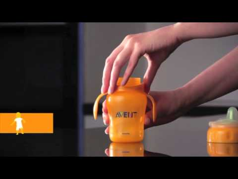 Philips Avent - Interchangeable and Flexible Feeding, Drinking Demonstration Video | BabySecurity