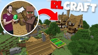 I Found A Rlcraft GIANT village!