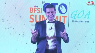 Illusion & Mind Reading Act by Clifford Naman Parekh at 3rd BFSI CTO Summit, Goa