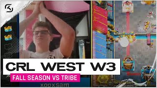 CRL West Fall Season 2020 Week 3 | SK Gaming vs Tribe | Moments