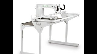 HQ Simply Sixteen quilting machine - The basics with Caroline Gunn.