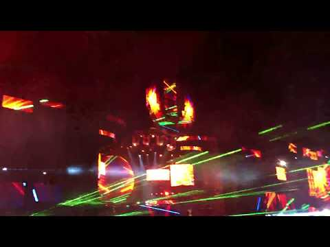 knife Party - Live - EDM Death Machine @ Ultra Mexico 2017