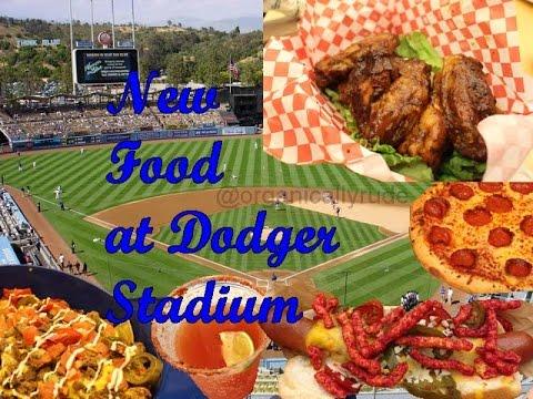 NEW FOOD at Dodger Stadium 2015