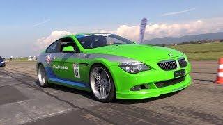 530HP BMW Alpina B6 V8 Supercharged - DRAG RACING!