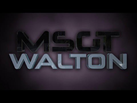 MSgt Walton's Goodbye