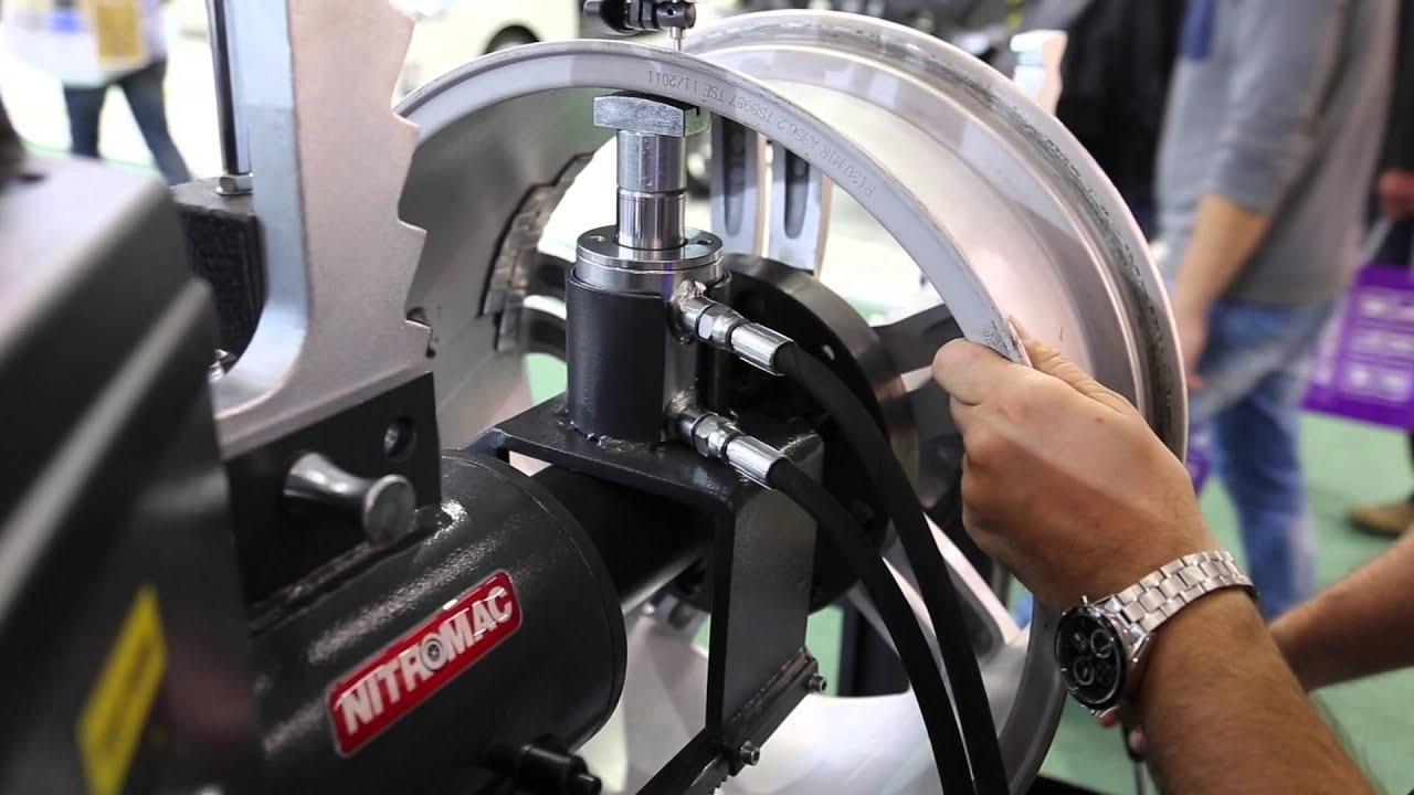 Nitromac Rim Straightening Machine Rim Press Machine