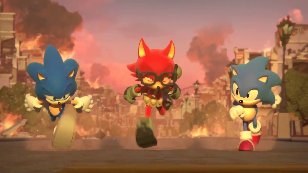 Image result for sonic forces in game