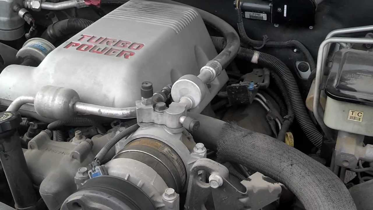1998 Gmc K3500 65l Turbo Diesel Not Running Well Youtube 350 Engine Diagram