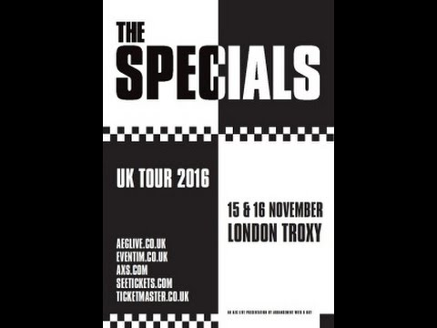 The Specials (Terry Hall) / We Have All The Time In The World (16/11/2016)