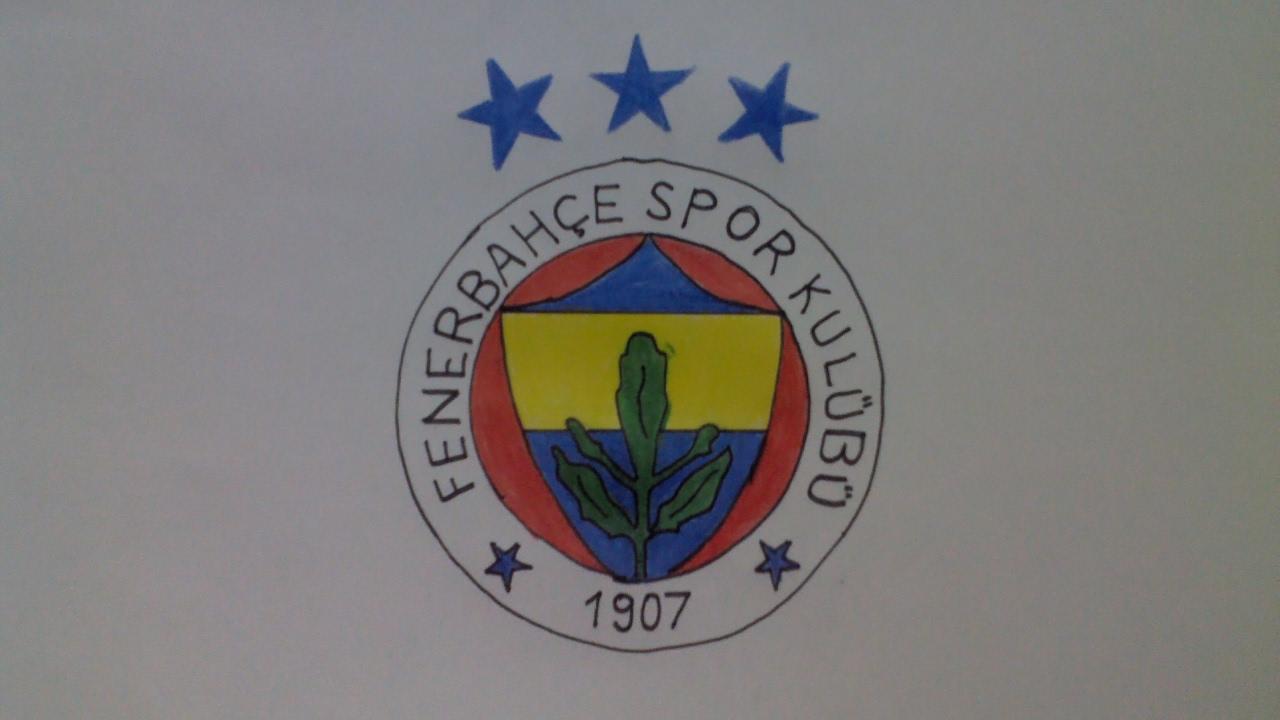 2017fenerbahçe şükrü Saracoğlu Fenerbahçe Amblem çizimi How To