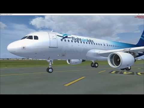 FSLab A320X Rejected Take Off with max Takeoff Weight